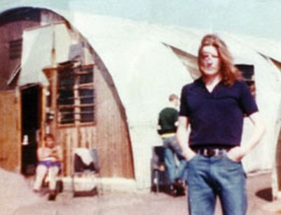 Bobby Sands in Long Kesh before the withdrawal of political status
